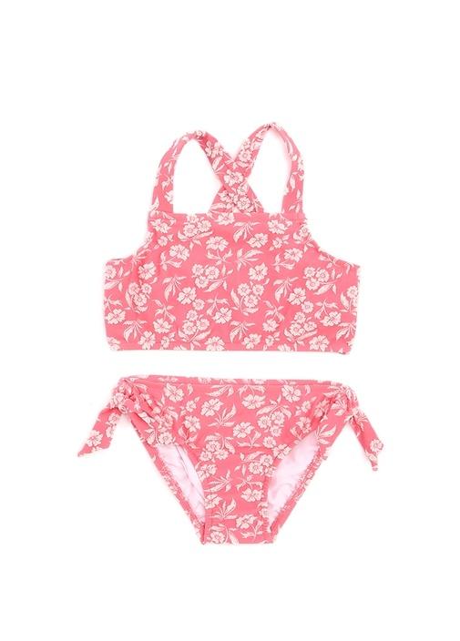 LittleVillinCo Pembe Kız Çocuk Bikini Takımı