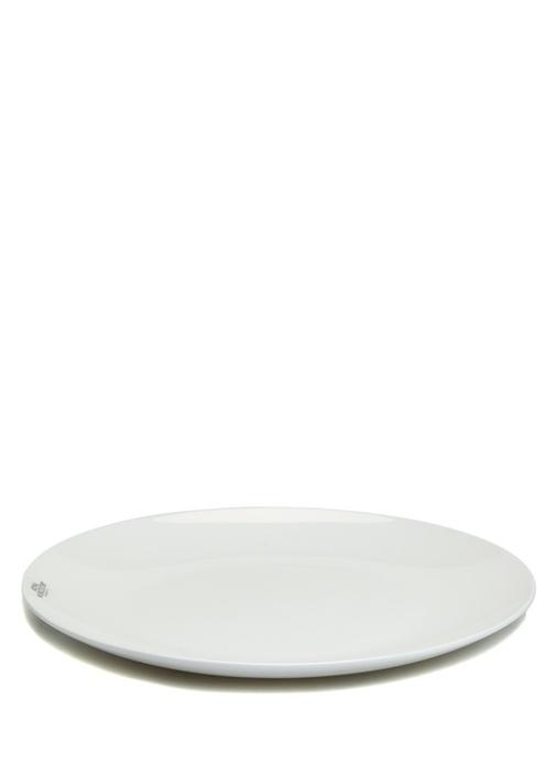 Destiny Beyaz Porselen Yemek Tabağı