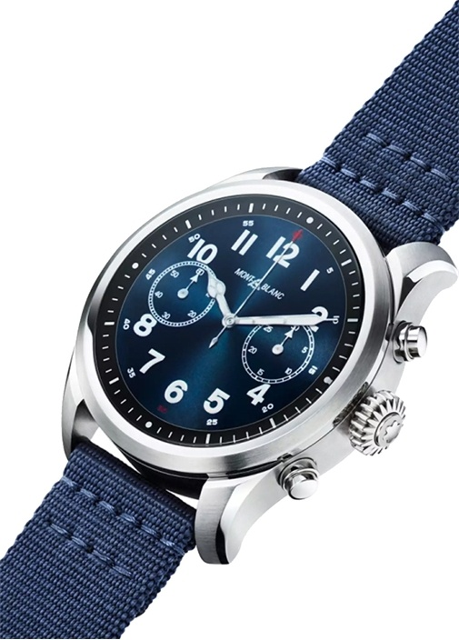 Summit 2 Mavi Kumaş Akıllı Saat