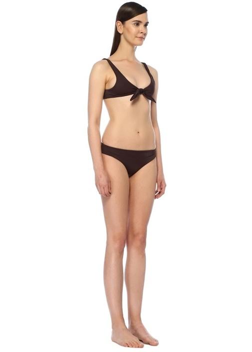 Vera Boyleg Mor Düşük Bel Bikini Altı