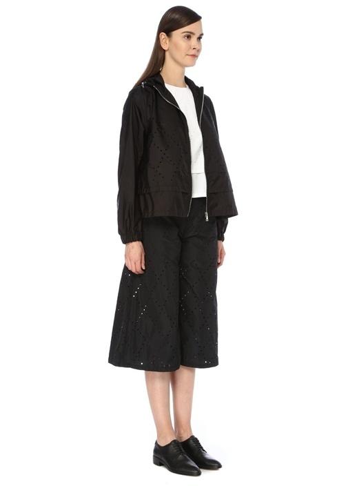 6 Moncler Noir Kei Ninomiya Vanadium Siyah Ceket