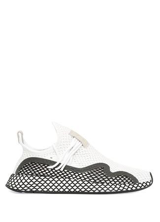 Kadın Deerupt Runner Beyaz Siyah Sneaker 4.5 UK