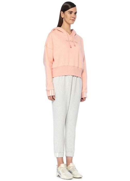 Coeeze Pembe Crop Sweatshirt