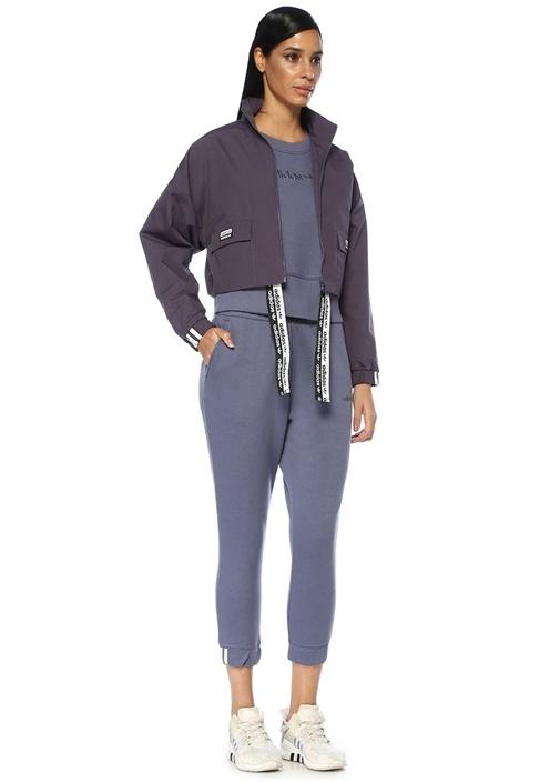 Coeeze Mavi Crop Sweatshirt