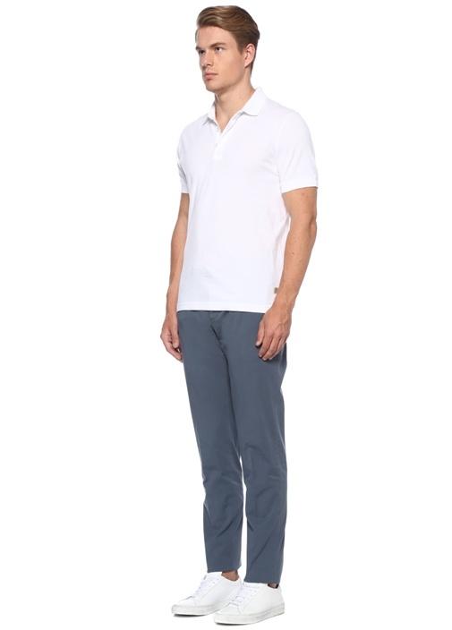 Slim Fit Mavi Normal Bel Pantolon