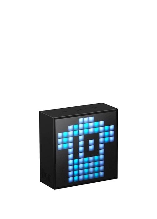 Mini Siyah Pixel Art Smart Bluetooth Hoparlör
