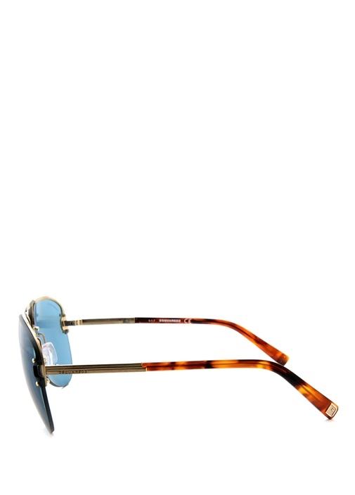 Mavi Pilot Stil Erkek Güneş Gözlüğü