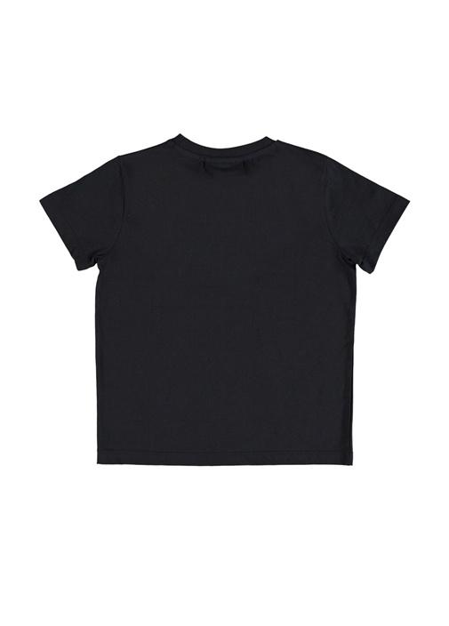 Raddix Siyah Baskılı Erkek Çocuk T-shirt