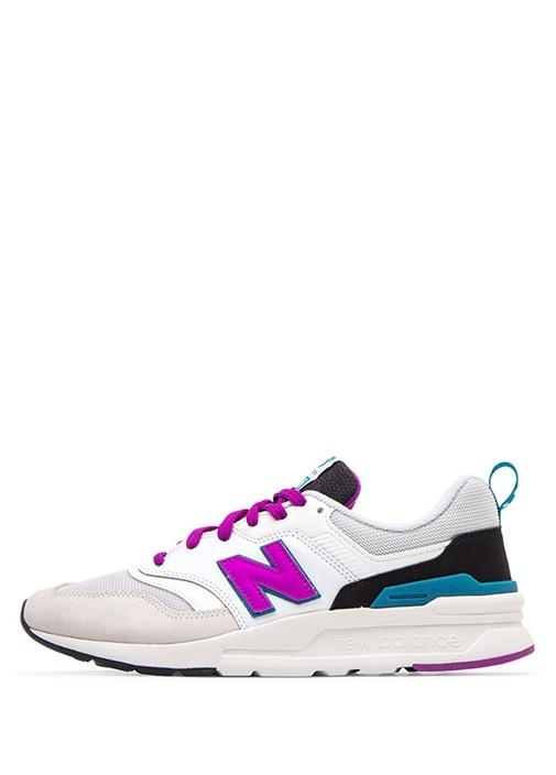 997 Mor Beyaz Kadın Sneaker