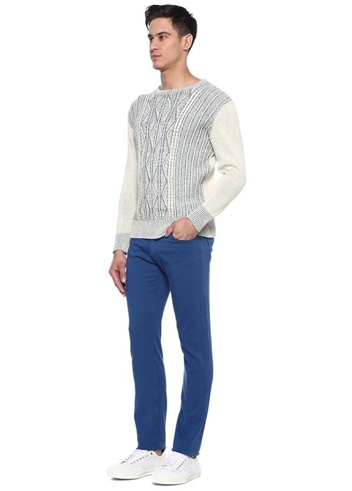 Cinque Mavi Normal Bel Boru Paça Pantolon