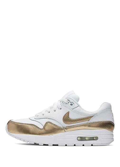 AirMAx 1 Ep Beyaz Gold Unisex Çocuk Sneaker
