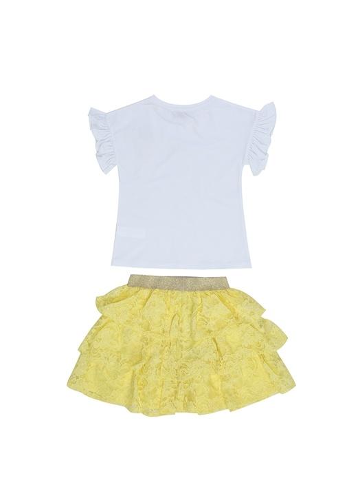 Summer Sunshine 2li Sarı Beyaz Kız Çocuk Set