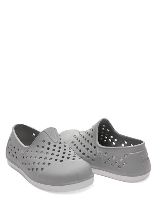 Romper Gri Delikli Unisex Çocuk Ayakkabı