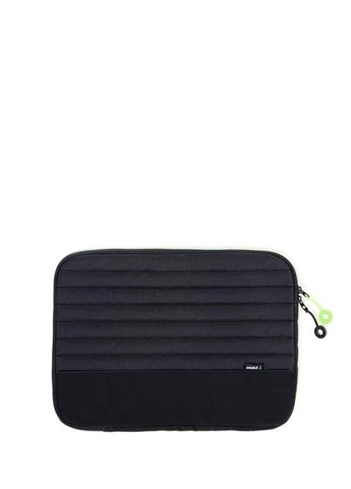 Siyah 13 Inç Puff Laptop Kılıfı
