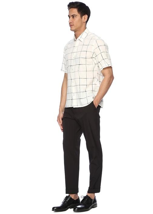 Siyah Normal Bel Chino Pantolon