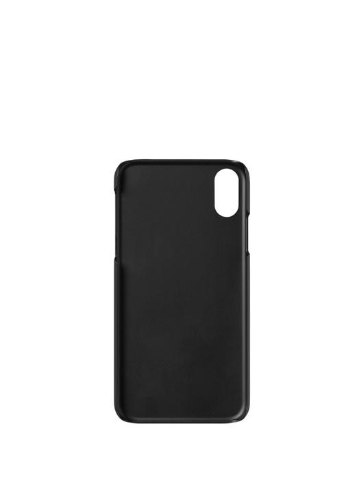 Nightflight Siyah Deri iPhone XR Telefon Kılıfı