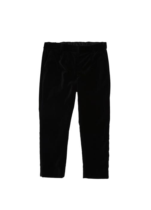 Siyah Kız Çocuk Kadife Pantolon