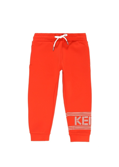 Turuncu Logolu Erkek Çocuk Jogger Pantolon
