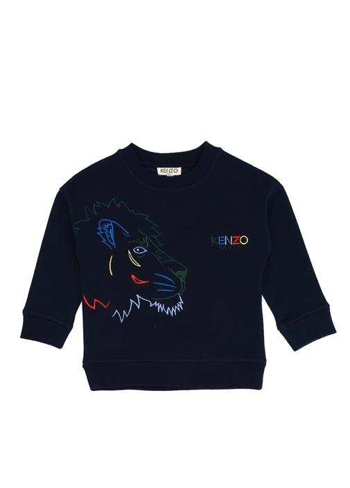 Gemini Lacivert Nakışlı Erkek Çocuk Sweatshirt