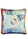 Colorblocked 40x40 cm İpek Dekoratif Yastık