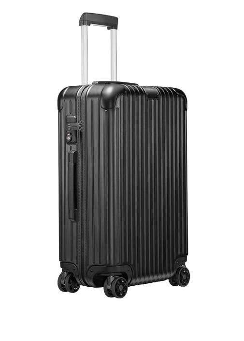 Essential Check In Medium Siyah Bavul