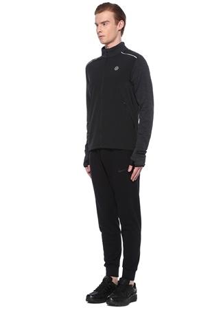 Nike Erkek EU Fit Therma Siyah Gri Sweatshirt M male