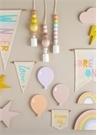 Jade Mini Somon Balon Formlu Ahşap Blok