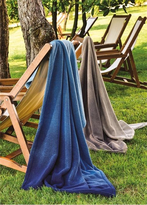 Shade Krem Kahverengi Kadın Plaj Havlusu