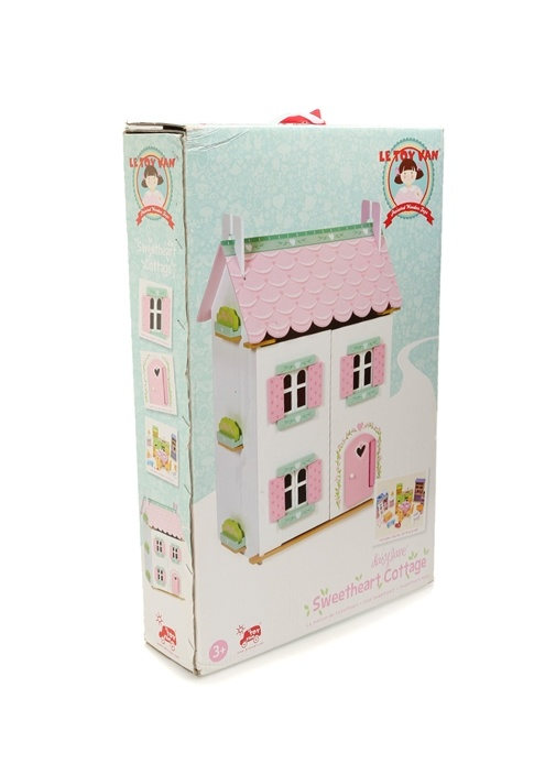 Sweetheart Cottage Ahşap Oyuncak Bebek Evi
