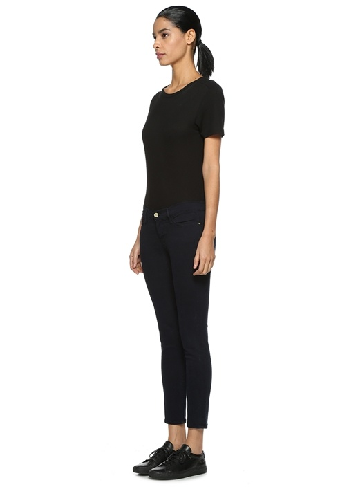 Skinny Fit Lacivert Jean Pantolon