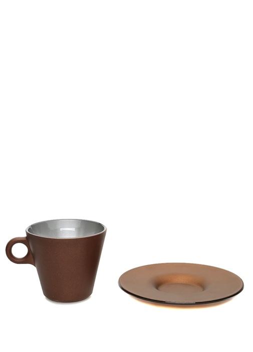 Ooh Kahverengi Cappuccino Fincan