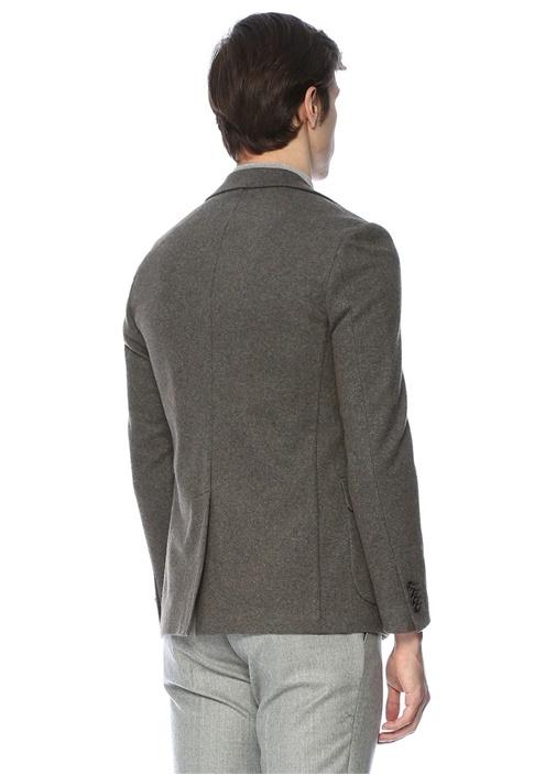 Drop 8 Açık Kahverengi Jersey Ceket