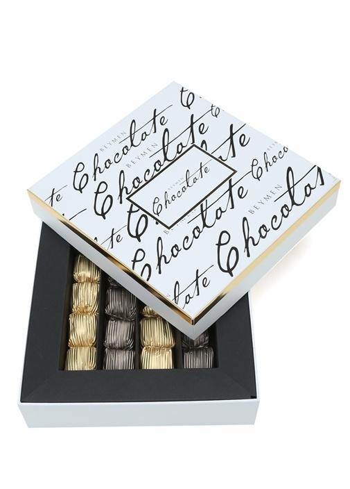 Sargılı Sütlü Bitter Kaplı 240 gr Krokan Çikolata