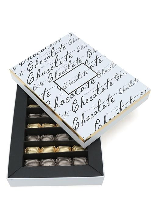 Sargılı Sütlü Bitter Kaplı 480 gr Krokan Çikolata