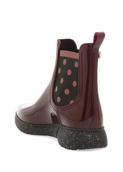 Bordo Serena 02 Kadın Yağmur Çizmesi