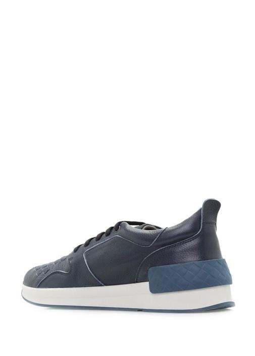 Calf Bv Grand Deri Lacivert Erkek Sneaker