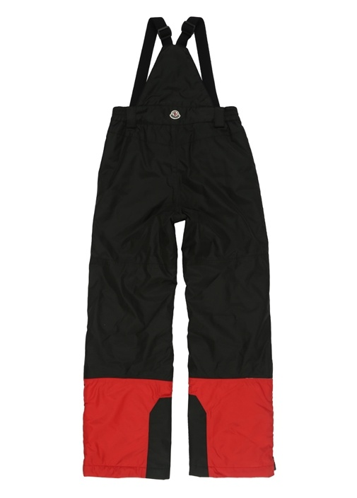 Siyah Normal Bel Garnili Kız Çocuk Kayak Pantolonu