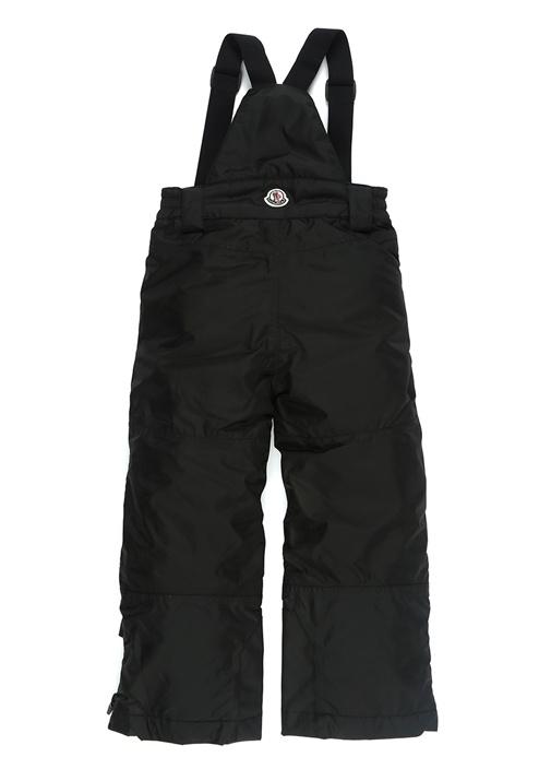 Siyah Normal Bel Erkek Çocuk Kayak Pantolonu