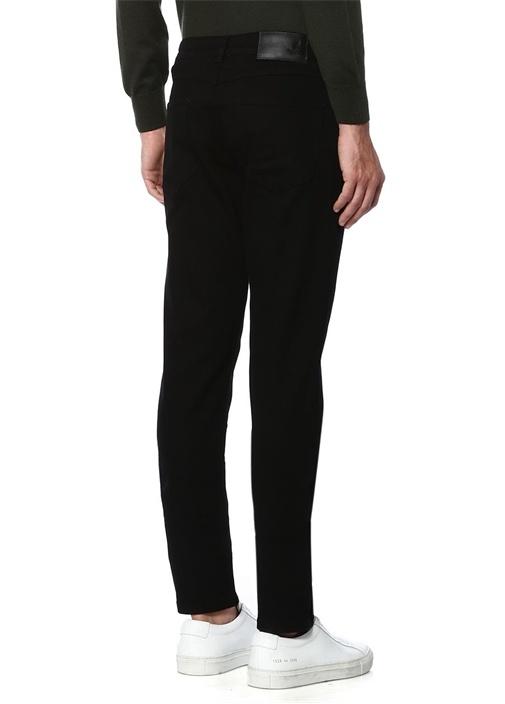Siyah Normal Bel Slim Fit Jean Pantolon