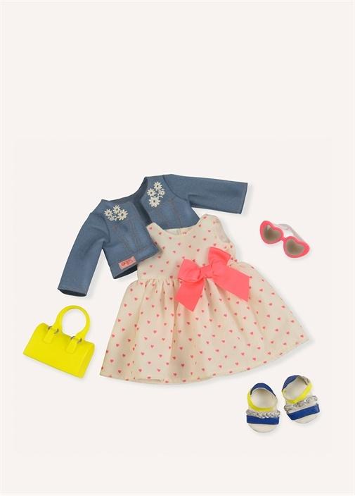 Deluxe Heartprint Dress Elbise Oyuncak Seti
