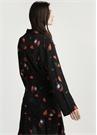 Çiçek Desenli Kimono Ceket