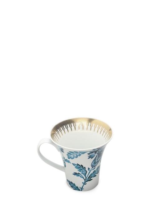 Gold Exotıc Porselen Kupa
