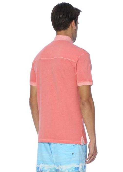 Pembe Slim Fit Polo Yaka Tshirt