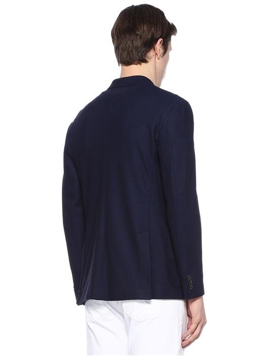 Drop 8 Lacivert Jersey Ceket