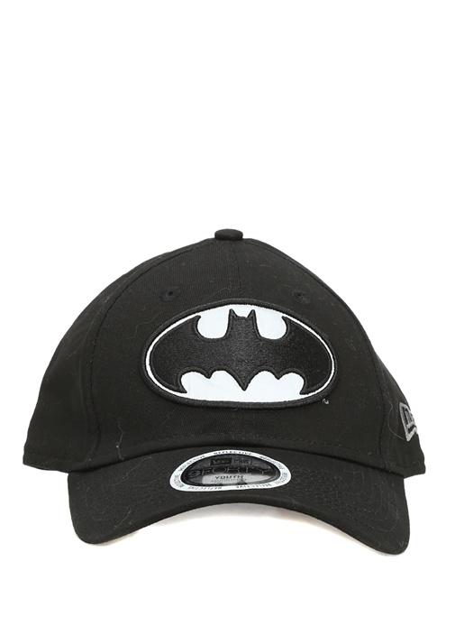 Siyah Batman Patchli Unisex Çocuk Şapka