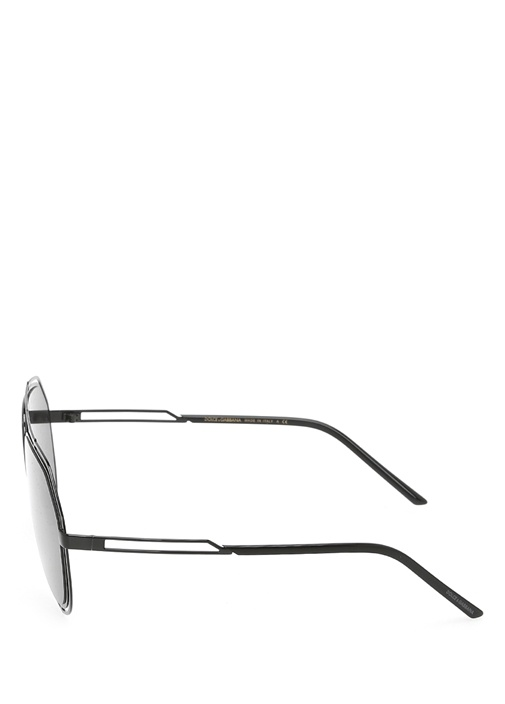 Aviator Siyah Oval Formlu Erkek Güneş Gözlüğü
