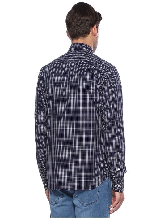 Lacivert Comfort Fit Gömlek