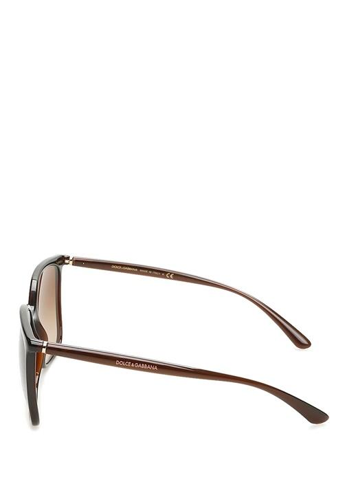 Kahverengi Degrade Camlı Kadın Güneş Gözlüğü