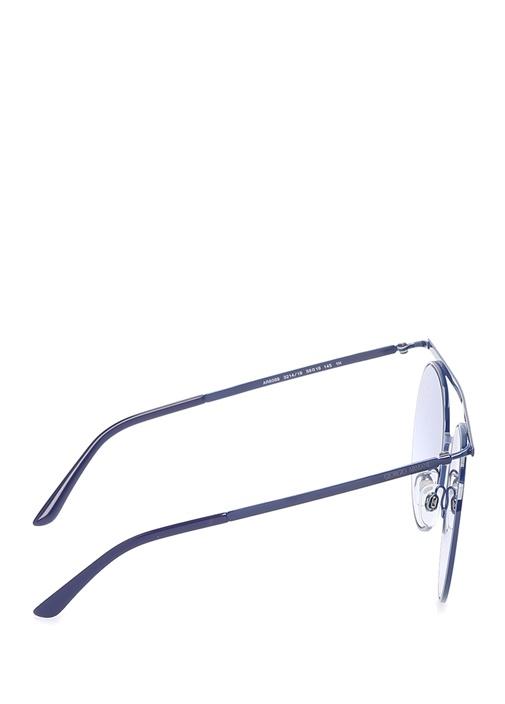 Mavi Degrade Camlı Kadın Güneş Gözlüğü
