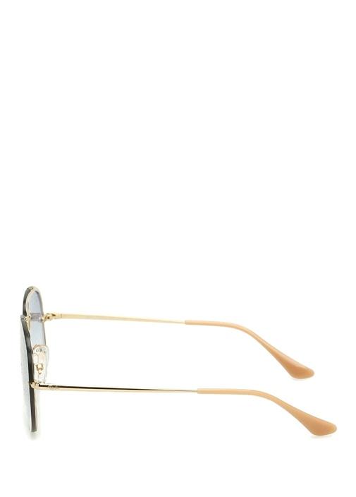Blaze Aviator Gold Unisex Güneş Gözlüğü
